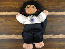 """Vintage 12"""" Russ Troll Dracula/Vampire Doll Very Nice Collectible"""