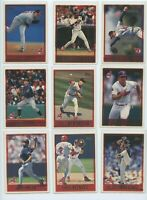 1997 TOPPS CLEVELAND INDIANS TEAM SET W/DRAFT PICKS and PROSPECTS (26 Cards)