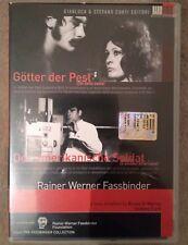 2 DVD + libro DEI DELLA PESTE + IL SOLDATO AMERICANO (R. W. Fassbinder) Raro