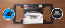 Carolina Panthers Plastic Badge License Plate Frame