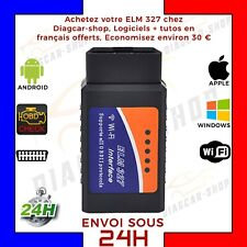 elm 327 WIFI OBD2 Interface DIAGNOSTIQUE  forscan Torque  IOS Iphone