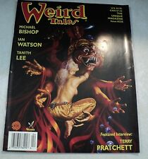 Weird Tales - #335 - Michael Bishop - Ian Watson - interview with Terry Pratchet