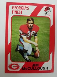 Jim McCullough Georgia Bulldogs UGA Dawgs 89 Collegiate Collection Macon GA