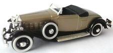 RIO 1:43 AUTO DIE CAST CADILLAC  V16 1931 ORO   ART 77