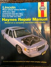 Mark Vi Wiring Diagrams Manual 1983 Lincoln Town Car