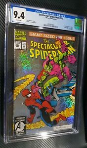 1993 Marvel Comics Spectacular Spider-Man #200 CGC 9.4 White Pages Silver Foil