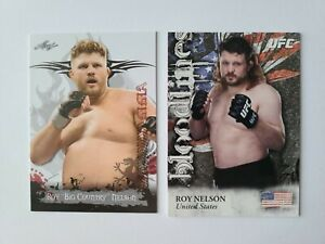 Roy Nelson Lot 2012 Topps Bloodlines /88 & 2010 Leaf