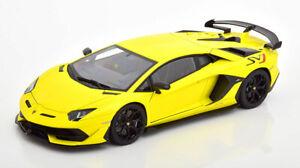 1:18 AUTOart Lamborghini Aventador SVJ 2019 yellow/black