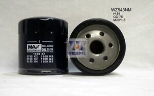 WESFIL OIL FILTER WZ543NM / Z543