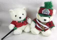1988 & 1997 Plush Santa Bears Lot 3258