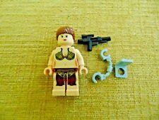 LEGO STAR WARS SLAVE PRINCESS LEIA Minifigure 75020 Jabba weapon