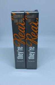 Benefit lot 2  Double The Lip Lipstick & Liner in One - LUSTY ROSE MINI 0.02 oz