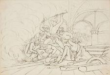 """Peter Johann Nepomuk Geiger (1805-1880), """"Allegorical Scene"""""""