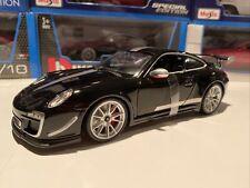 Porsche 911 GT3 RS 4.0 - Black 1/18 Scale Bburago New In The Box