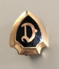"""Antique English """"D"""" Detroit Pin: Early Tigers Baseball Or Detroit College"""