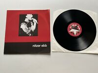 "Nitzer Ebb Warsaw Ghetto 12"" Vinyl Single 1987 Barcode Reissue Rare Import"