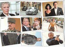 "James Bond Archives 2015 - 90 Card ""Quantum Of Solace"" Basic/Base Set Free P1"
