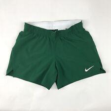 New Nike Dry Untouchable Speed Training Short Youth Girl's Medium Green