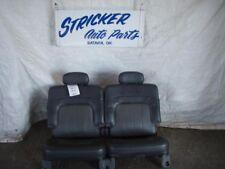 03 GMC ENVOY XL 3RD ROW REAR SEAT CHR-92I,LEATHER,50-50,4DR 816493 816493