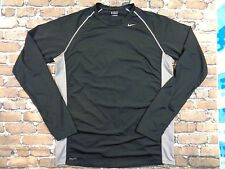 Nike Dri Fit Black Long Sleeve Shirt sz. L