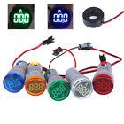 220V AC 22mm Digital Ampermeter Monitor Current Indicator 0-100A Ammeter Test`GA