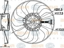 HELLA 8EW 351 039-781 FAN RADIATOR FITS VW POLO WHOLESALE PRICE FAST SHIPPING