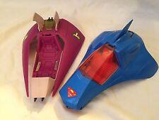 VINTAGE 1984 Kenner SUPER POWERS Complete Supermobile + LEX SOAR