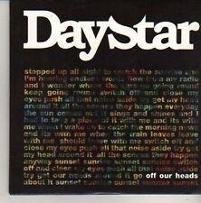(CN417) Daystar, Off Our Heads - 2011 DJ CD