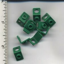 LEGO x 10 Green Minifig, Neck Bracket with Back Stud NEW Island Xtreme Stunts