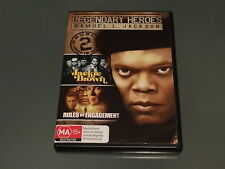 LEGENDARY HEROES JACKIE BROWN AND RULES OF ENGAGEMENT *GREAT PRICE*