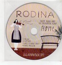 (FF501) Rodina, Home, 4 track sampler - DJ CD