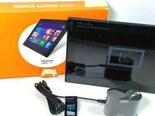Nokia Lumia 2520 32GB, Wi-Fi + 4G 10.1in - Black Silk AT&T