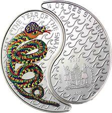Fiji 2 x 1 Dollar Silber 2013 Yin & Yang Jahr der Schlange Polierte Platte