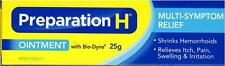 Preparation H Ointment With Bio-Dyne Multi-Symptom Relief 25g Made in Canada