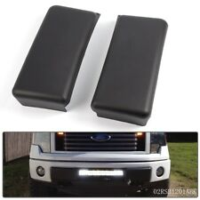 Front Bumper Guards Pads Caps Inserts LH + RH Set For 09-14 FORD F150