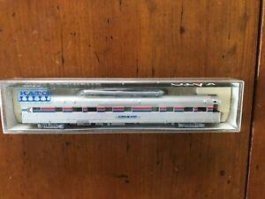 "Kato N Scale #156-0802 Amtrak ""Beech Grove"" Business Car"