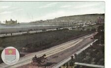WESTON-SUPER-MARE, SOMERSET -  VIEW FROM SOUTH  COLOUR POSTCARD (1906)
