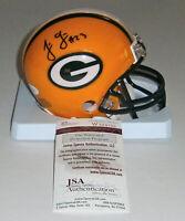 PACKERS Jonathan Franklin signed mini helmet w/ #23 JSA COA AUTO Autographed