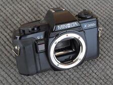 ✅   Bella MINOLTA X300s - solo corpo - XE5 XD5 XD7 XM X500 X700