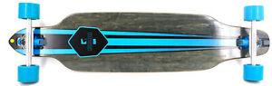 RAM Longboard S-FR Solitary Shap Blue/Black  - Skateboard Funsport Skaten 782