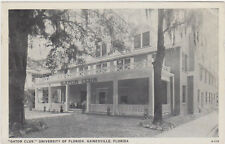 Gainesville,Florida,University of Florida,Gator Club,1930s