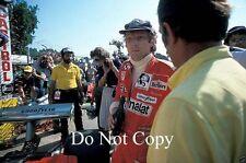 Niki Lauda Ferrari 312 T2 Italiana Grand Prix 1977 fotografía 2