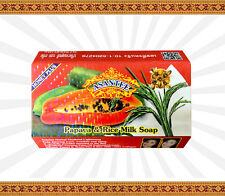 Asantee Papaya & Rice Milk Soap 125g - Single 1 Bar