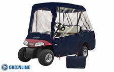 Greenline 2 Passenger Roof / 4 Passenger Seating Golf Cart Enclosure - Navy