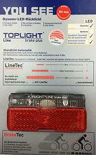 B&M Toplight Line Brake Plus LED Rücklicht 80 mm Bolzenabstand