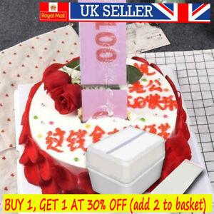 Cake ATM Happy Birthday - Money Cake Dispenser Box Cake Money Pull Out Kits~****