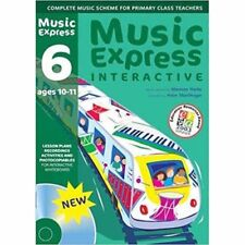 Music Express Interactive 6 CD ROM Ages 10-11 + SITE LICENCE  -  NOT A BOOK