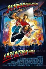 LAST ACTION HERO MOVIE POSTER FILM A4 A3 ART PRINT CINEMA
