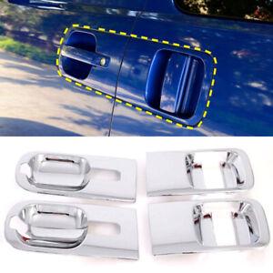 For Hyundai H-1 iMax 2008-2020 Chrome Side Door Cup Bowl Frame Cover Trim 6pcs