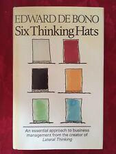 Six Thinking Hats by Edward De Bono (1985 Hardcover)